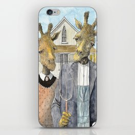 American Giraffic iPhone Skin