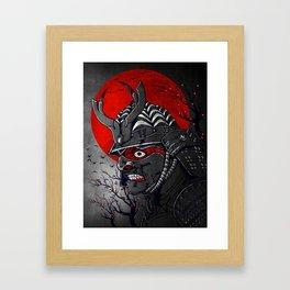 Samurai Z Framed Art Print