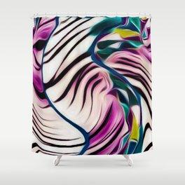 JUNGLE FEE Shower Curtain