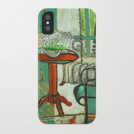 Henri Matisse The Green Room iPhone Case