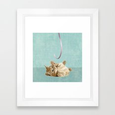 Kitten Framed Art Print