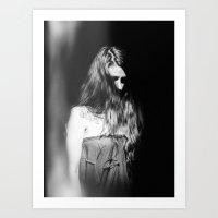 M. Study I Art Print