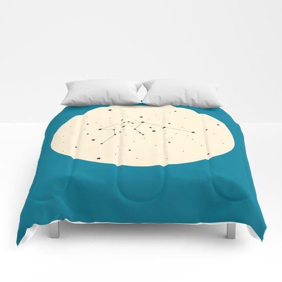 Aquarius - Blue Comforters