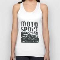 sport Tank Tops featuring Motor Sport by Tshirt-Factory
