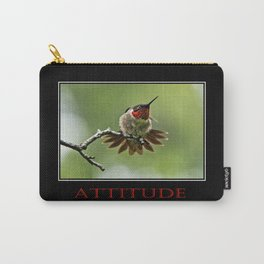 Inspirational Attitude Carry-All Pouch