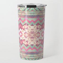 Floral Mirror Travel Mug