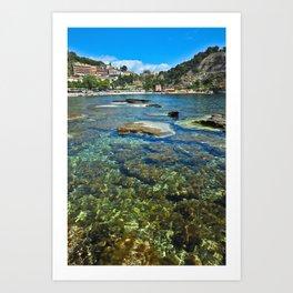 Taormina, Sicily I Art Print