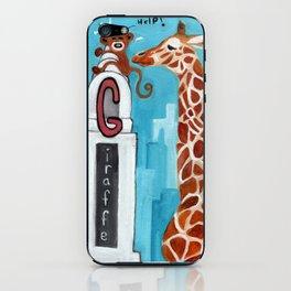G for Giraffe - Alphabet City  iPhone Skin