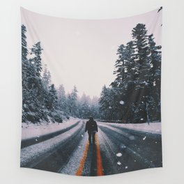 Winter Solitude Wall Tapestry