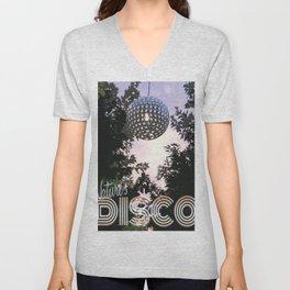 Nature's Disco Unisex V-Neck
