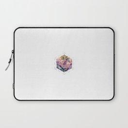 Subtly Flourishing - Hexagon Laptop Sleeve