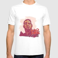 Mad Max MEDIUM Mens Fitted Tee White