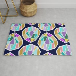 Faceted Rug