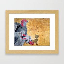 Ratchet and Ronto Framed Art Print