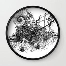 HELL'S ZODIAC - ARIES Wall Clock
