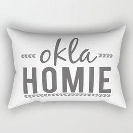 OKLA HOMIE - Oklahoma Love Rectangular Pillow