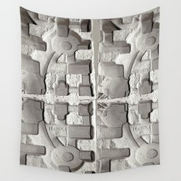 Sculptural Relief Wall Tapestry