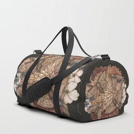Flowers and Moths Duffle Bag
