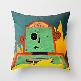 Smelting Day! Throw Pillow