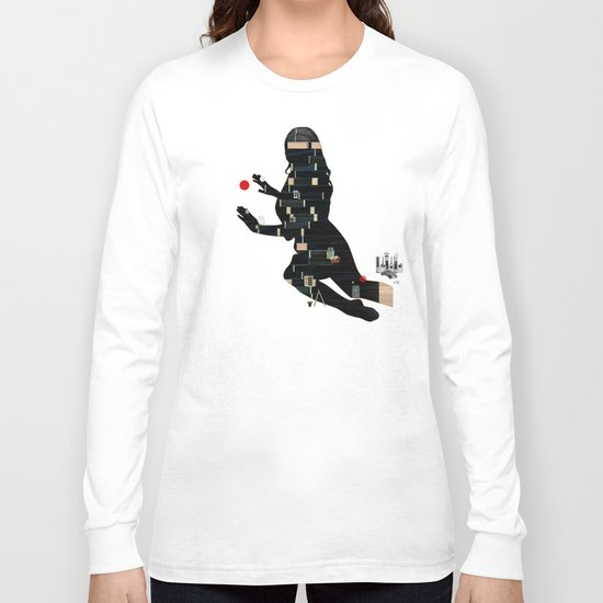 Black Magic Woman Long Sleeve T-shirt