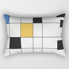 Simple Connections 6 Rectangular Pillow