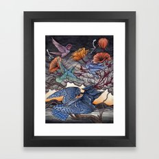 Together We Face The Storm Framed Art Print