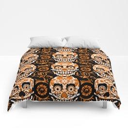 Halloween Calaveras Comforters