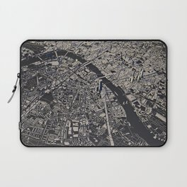 London city map Laptop Sleeve