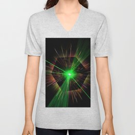 light show Unisex V-Neck