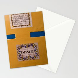 Yellow Wall Stationery Cards