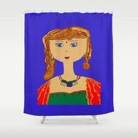 india Shower Curtains featuring India style by andy_panda_