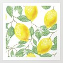 Lemons and Flowers by sunnyandtropical