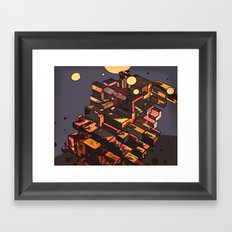 Locals Only - The Bronx, NY Framed Art Print