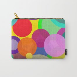 Colorful Circles Carry-All Pouch