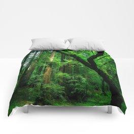 Enchanted forest mood II Comforters
