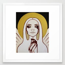 Angelique Framed Art Print