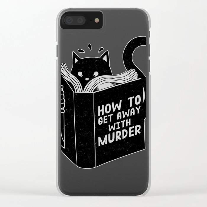 How to get away with murder Clear iPhone Case