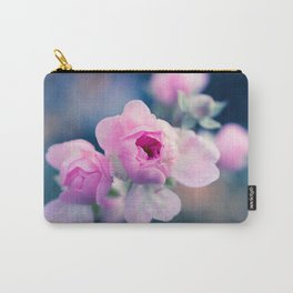 Pinkie Rose Buds Carry-All Pouch