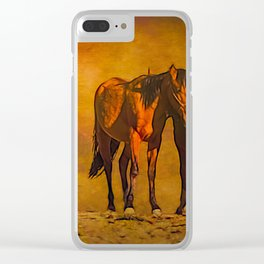 Catching the Last Sun Clear iPhone Case