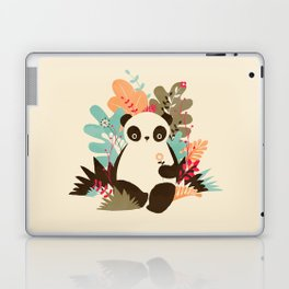 Flower Panda Laptop & iPad Skin