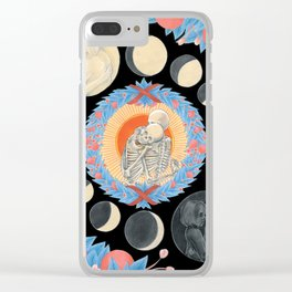Lovers Tarot Clear iPhone Case