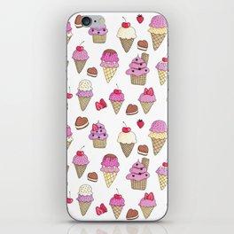 Ice Cream and Berries iPhone Skin