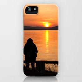 Sunset Fleuve St-Laurent iPhone Case