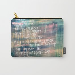 A Sea of Sin Carry-All Pouch