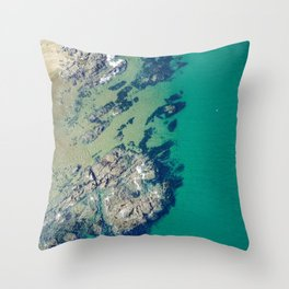 What Lies Beneath Throw Pillow