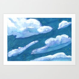 chunk of sky #1 Art Print