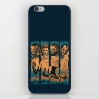 vikings iPhone & iPod Skins featuring Vikings by RicoMambo