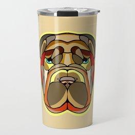 Shar Pei Dog Travel Mug
