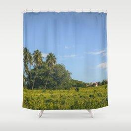 Rincon, Puerto Rico Shower Curtain