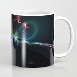 Fey Lights Fractal in Aurora 01 Coffee Mug